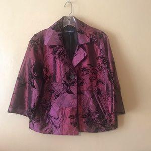 Susan Graver jacket size Medium, 100 polyester